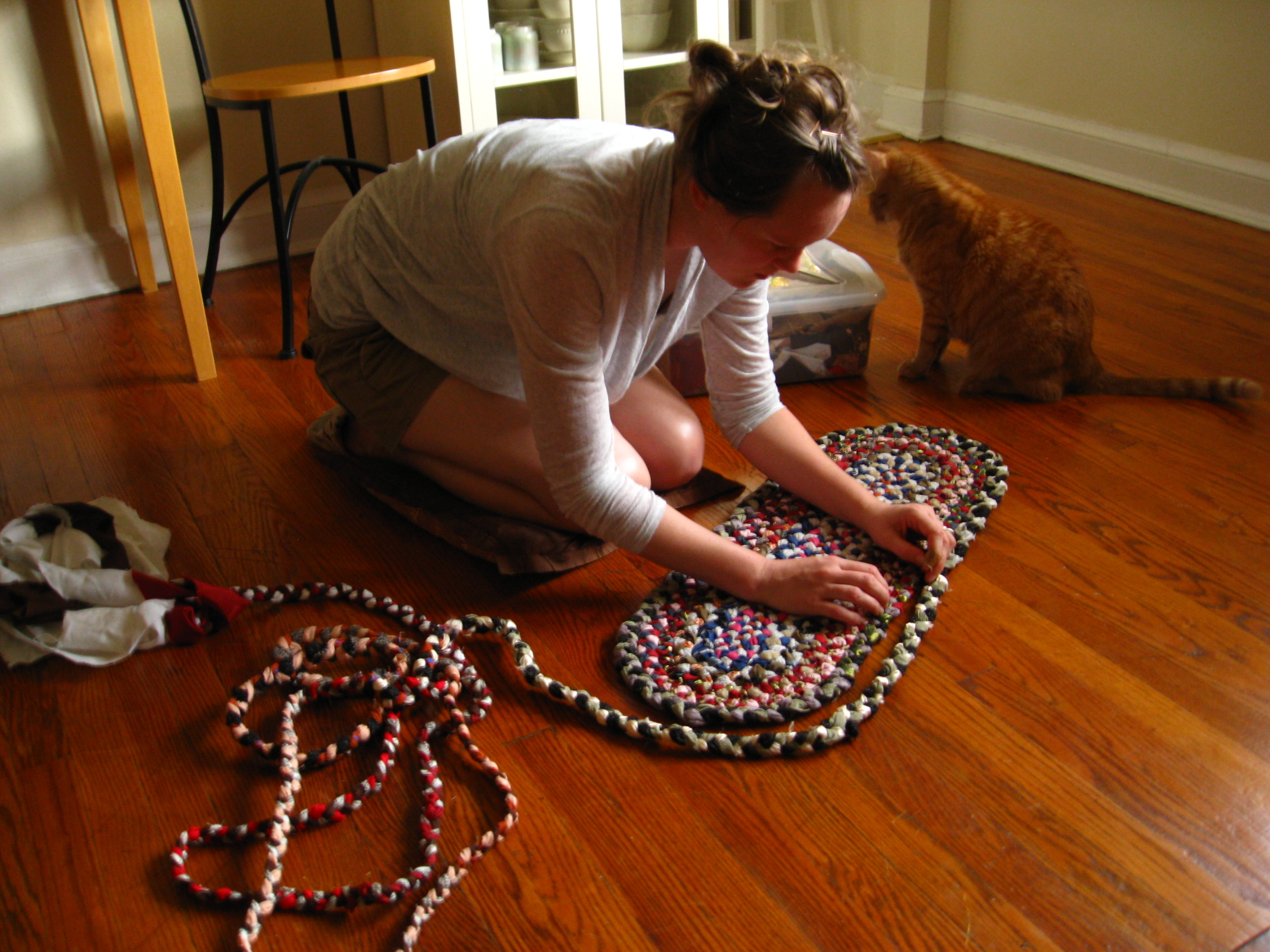 Making_A_Braided_Rug
